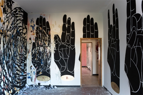 "BASIK X MARTINA MERLINI, ""ROOM WITH A VIEW"" COLLABORATION PIECE AT VILLA MANZI"
