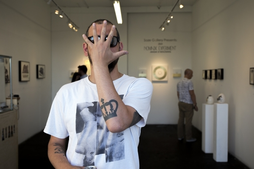 """2501, """"NOMADIC EXPERIMENT: ANATOMY OF RESTLESSNESS"""" SHOW AT SOZE GALLERY LOS ANGELES REVIEW"""