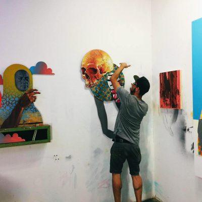 "Michael Reeder, ""Me, Myself and Delirium"" at Codesa Fine Art Gallery Los Angeles"